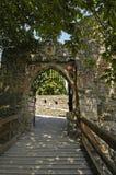 Arco della passerella Fotografia Stock