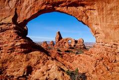 Arco della torretta Fotografie Stock