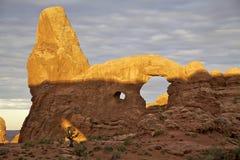 Arco della torretta, archi N.P. Fotografia Stock Libera da Diritti
