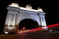 Arco della vittoria, Ballarat immagini stock