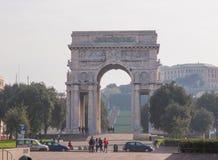 Arco della Vittoria Genoa Stock Photography