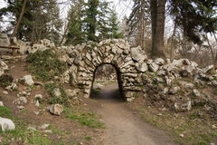 Arco delle pietre Fotografie Stock Libere da Diritti