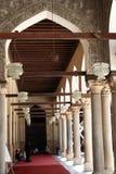 Arco dentro de una mezquita Imagen de archivo libre de regalías