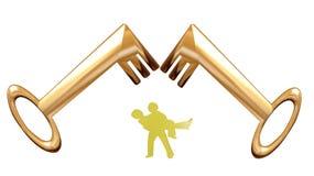 Arco di cerimonia nuziale royalty illustrazione gratis