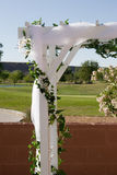 Arco di cerimonia nuziale Fotografie Stock Libere da Diritti