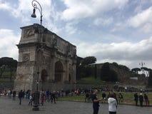 Arco di Constantine, Roma Fotografia Stock Libera da Diritti