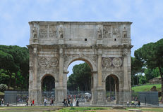 Arco di Constantino Stock Images