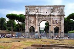 Arco di Constantino imagens de stock