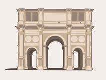 Arco di Constantino Imagenes de archivo