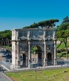 Arco Di Costantino (De Boog van Constantin) Rome (Rome) Stock Foto