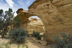 Arco di Dutchmans nel San Rafael Swell dell'Utah Fotografia Stock Libera da Diritti