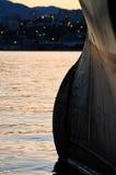 Arco di grande nave Fotografie Stock Libere da Diritti