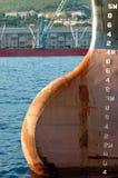 Arco di grande nave Fotografie Stock