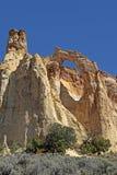 Arco di Grosvenor vicino al parco di stato del bacino di Kodachrome, Utah, U.S.A. Fotografia Stock Libera da Diritti