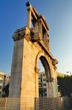 Arco di Hadrian Fotografie Stock