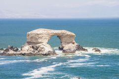 Arco di La Portada, Antofagasta, Cile fotografia stock