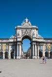 Arco di Lisbona Immagine Stock