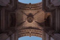 Arco di Lisbona Immagini Stock