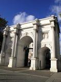Arco di marmo Fotografie Stock
