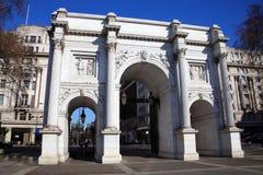 Arco di marmo Fotografia Stock Libera da Diritti
