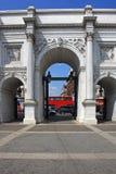 Arco di marmo Immagine Stock