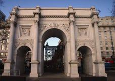 Arco di marmo Immagini Stock