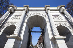 Arco di marmo a Londra Immagine Stock Libera da Diritti