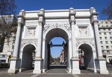 Arco di marmo a Londra Fotografie Stock