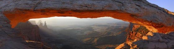 Arco di MESA ad alba Fotografie Stock
