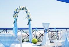 Arco di nozze Fotografie Stock Libere da Diritti