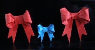 Arco di origami Fotografia Stock