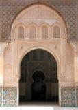 Arco di pietra del fretwork Immagini Stock