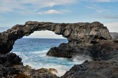 Arco di pietra naturale Fotografia Stock