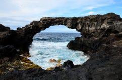 Arco di pietra naturale Immagini Stock