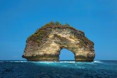 Arco di pietra naturale Immagini Stock Libere da Diritti