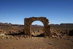 Arco di Saganne della fortificazione Fotografia Stock Libera da Diritti