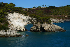 The Arco di San Felice, Gargano penisula, Italy Royalty Free Stock Photos
