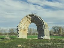 Arco di San Miguel de Mazarreros fotografie stock libere da diritti