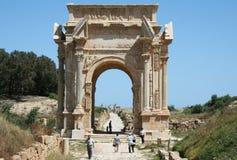 Arco di severus di Septimius fotografia stock libera da diritti