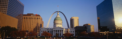 Arco di St. Louis Fotografia Stock Libera da Diritti