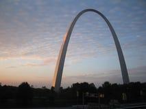 Arco di St. Louis Immagine Stock Libera da Diritti