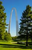 Arco di St Louis Immagine Stock