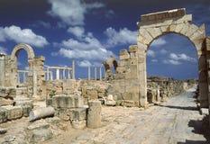 Arco di Tiberius fotografia stock libera da diritti