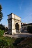 Arco Di Tito (αψίδα του Titus) στη Ρώμη Ιταλία Στοκ φωτογραφία με δικαίωμα ελεύθερης χρήσης