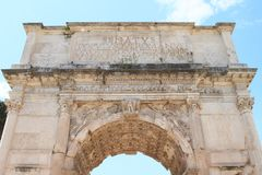Arco Di Tito Στοκ Εικόνα