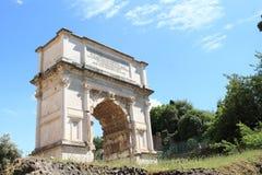 Arco di Tito Royaltyfri Bild