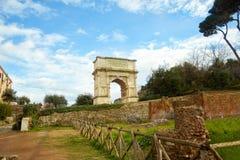 Arco di Tito Fotos de archivo