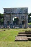 Arco di Traiano Stock Image