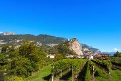 Arco Di Trento - Trentino Ιταλία Στοκ φωτογραφία με δικαίωμα ελεύθερης χρήσης