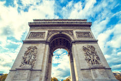 Arco di Triumph, Parigi Immagini Stock